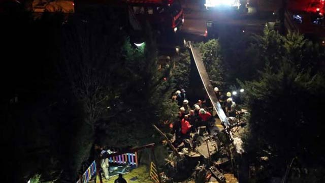 Istanbul: Four Soldiers Killed in Helicopter Crash
