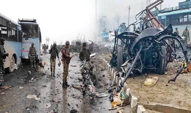 IOK: Pulwama Bomb Blast Kills 44 Indian Troops