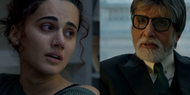 Amitabh Bachchan and Taapsee Pannu's Upcoming Thriller Crime Drama, Badla Is Creating A Buzz