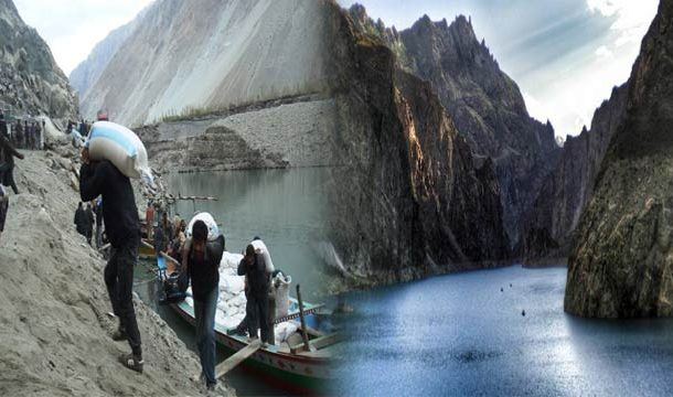 Artificial Lake Poses Threat to Local People in Hunza GB