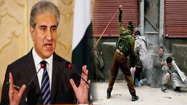 Pakistan to Raise Strong Voice for Kashmir: FM Qureshi