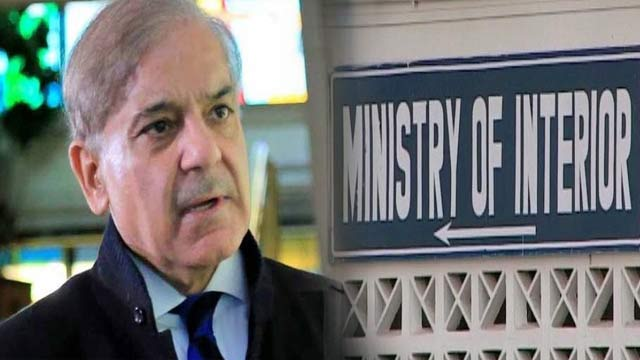 Interior Ministry Put Shehbaz on ECL