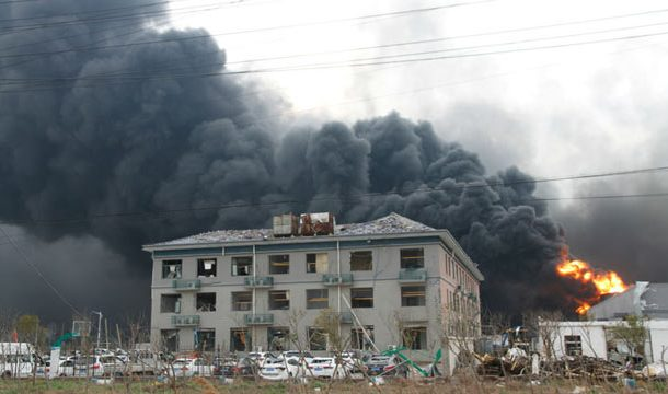 China: Blast at Chemical Plant Leaves 44 Dead, Several Injured