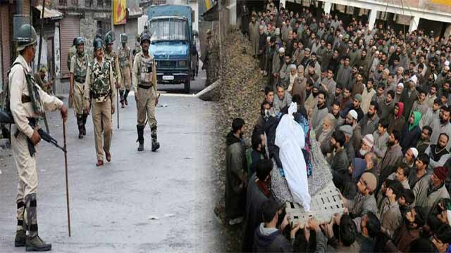IOK: Indian Troops Martyr Three Youth