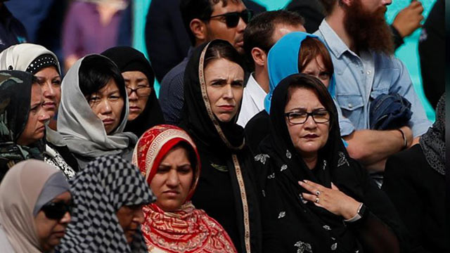NZ PM Ardern Attends Friday Prayers