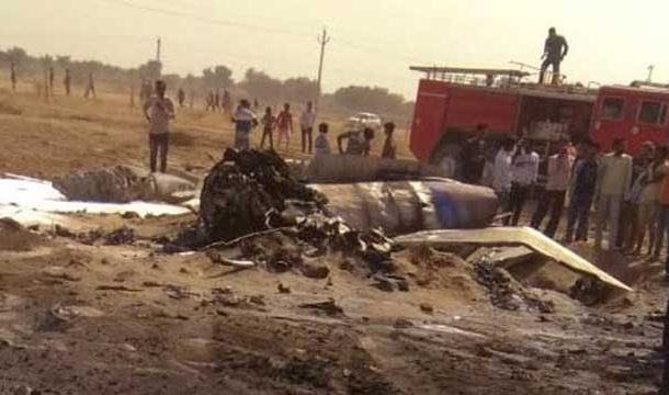 Another MiG-21 of IAF Crashes in Rajasthan