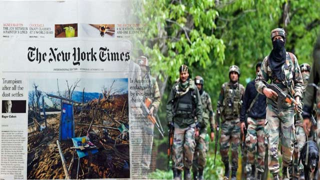 Indian Army Stands Exposed by New York Times