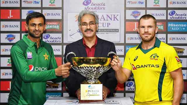Pakistan All Set to Face Australia in First ODI Match Today