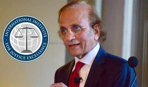 Ex CJP to Receive International Justice Excellence Award
