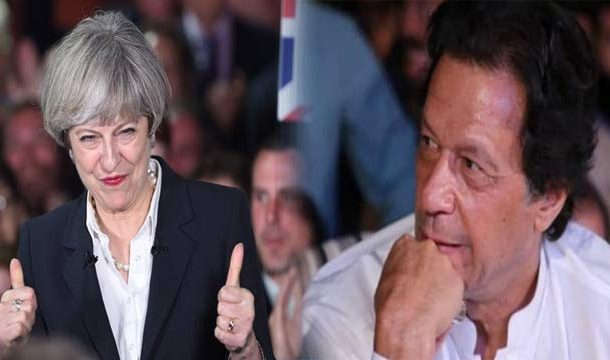 British PM Praises PM Imram's Peace Gesture Amid Pak-India Tensions