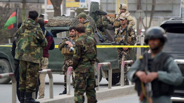 Terror Attack on Afghan Military Base Killed 25 Soldiers