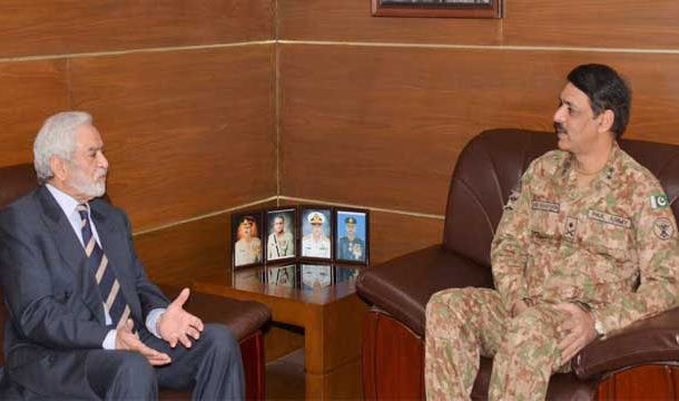 DG-ISPR Discusses PSL Arrangements With Ehsan Mani
