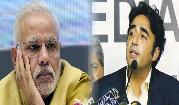 Modi is Responsible for Pak-India Tensions: Bilawal