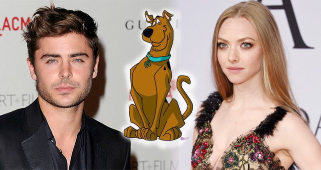 New 'Scooby-Doo' Star Cast Brings Zac Efron as Fred, Amanda Seyfried as Daphne