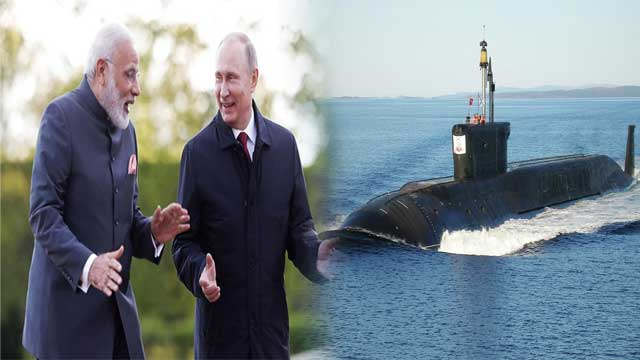 India to Lease Russian Nuclear-Powered Submarine
