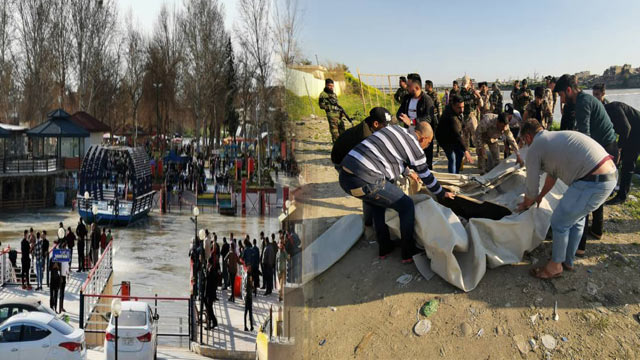 100 Dead as Ferry Sinks in Iraq's Tigris River
