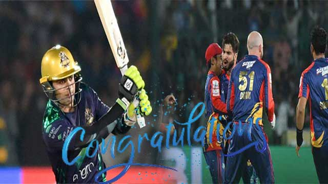 PSL: Congratulations Kings for Nail Biting Victory