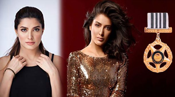Mehwish Hayat Shares A Picture With Tamgha E Imtiaz