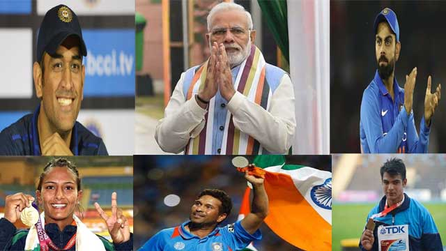 PM Modi Appeals to High Profile Players to Encourage High Voter Turnout