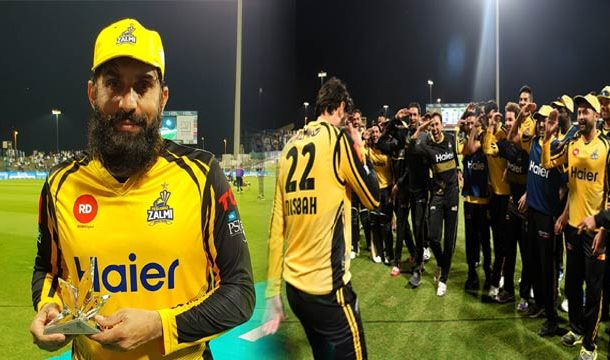 PSL: Zalmi Stuns Qalandars by 4 Wickets