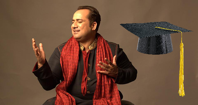 Rahat Fateh Ali Khan Will Be Getting Honorary Degree From Oxford University