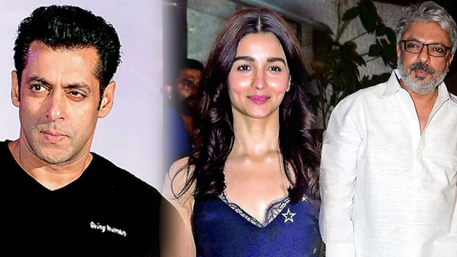 Salman khan And Alia Bhatt Will Appear Together In Sanjay Leela Bhansali's