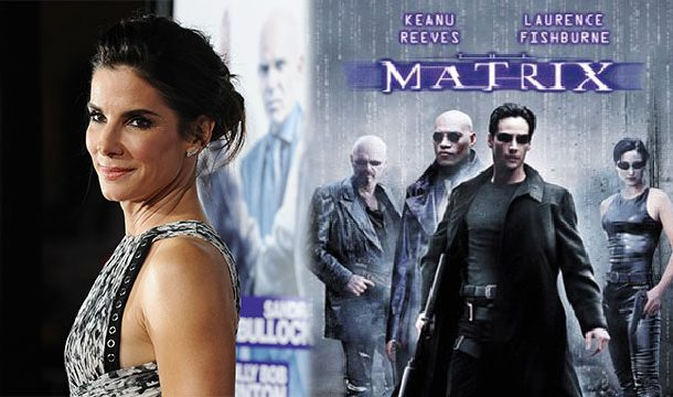 Sandra Bullock Was The First Choice to Play Role Of Neo in 'The Matrix'