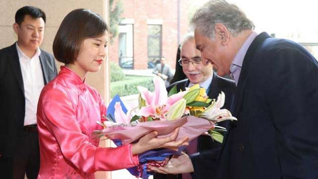 FM Qureshi Reaches China to Attend Strategic Dialogue
