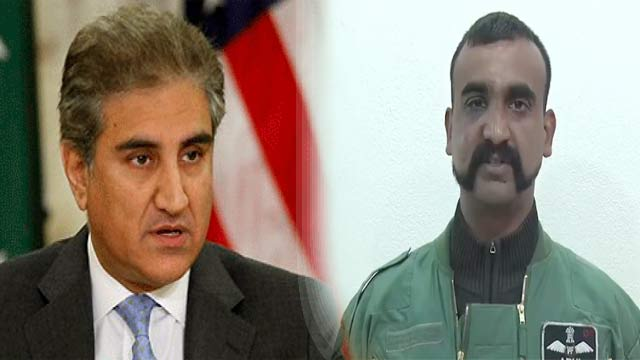 There Was no Pressure on Pakistan to Release IAF Pilot: FM Qureshi