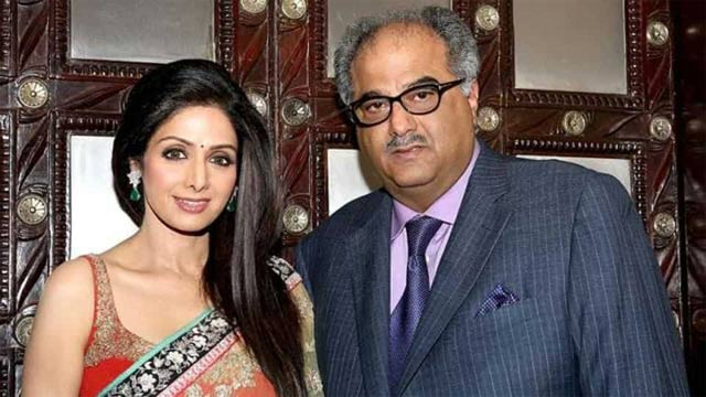 Boney Kapoor Announced to Put Sridevi's sari For Auction On Her First Death Anniversary for Charity