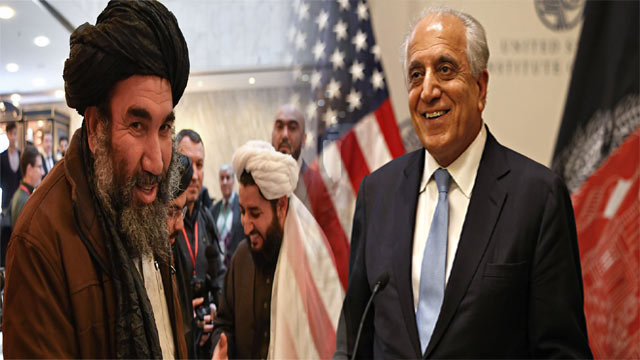 Real Strides Made in Talks with Taliban Claimed the US Envoy Khalilzad