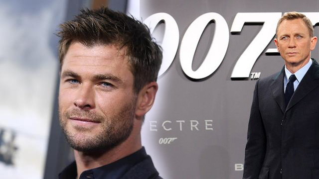 Chris Hemsworth Wishes To Play The Role Of James Bond