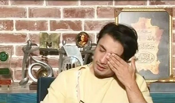 Ali Zafar Breaks Down in Front of the Audience