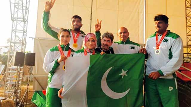 Pakistan Shines at Asian Indoor Rowing With 4 Medals