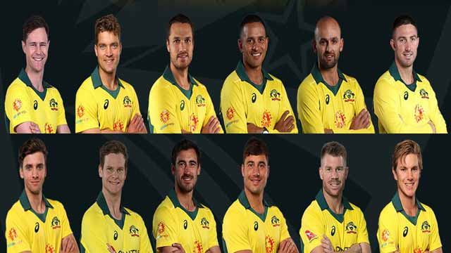 Australia Announces Much Awaited  World Cup Squad