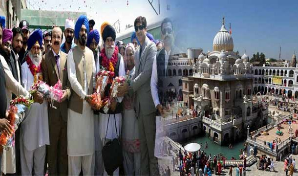 Baisakhi Celebrations Begin at Gurdwara Panja Sahib