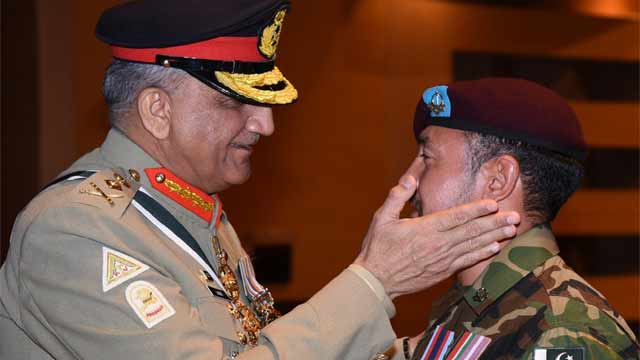 COAS Confers Military Awards on Army Personnel