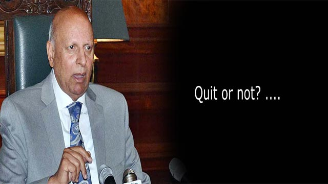 Chaudhry Sarwar Clarifies Speculations of Resignation