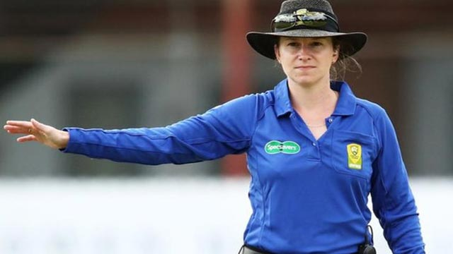 Meet The First Female Umpire to Officiate Men's ODI