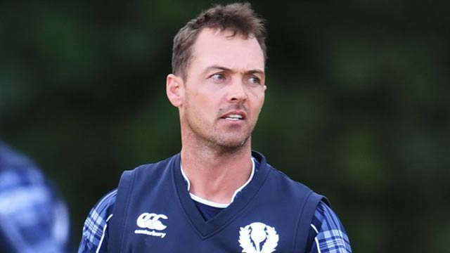 Scotland Cricketer Dies Aged 38