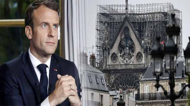 French President Vows to Rebuild Cathedral Within 5 Years