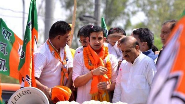 Gautam Gambhir in Trouble After Holding Rally Without Permit