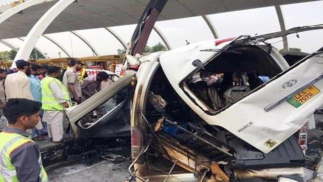 Islamabad: 12 People Killed, Several Injured In Toll-Plaza Accident