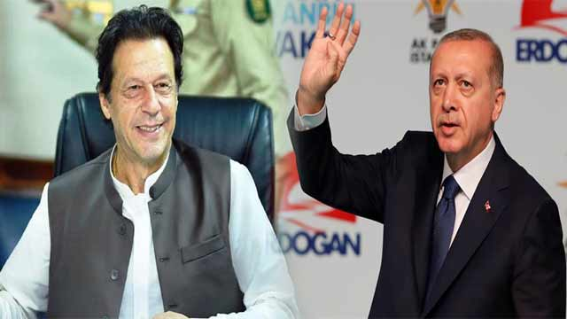 PM Khan Congratulates Erdogan on Victory in Local Elections