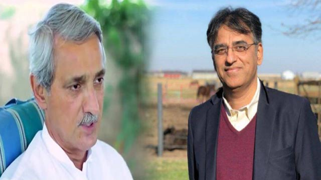 Jahangir Tareen Comes Out in Support of Asad Umar After Social Media Campaign