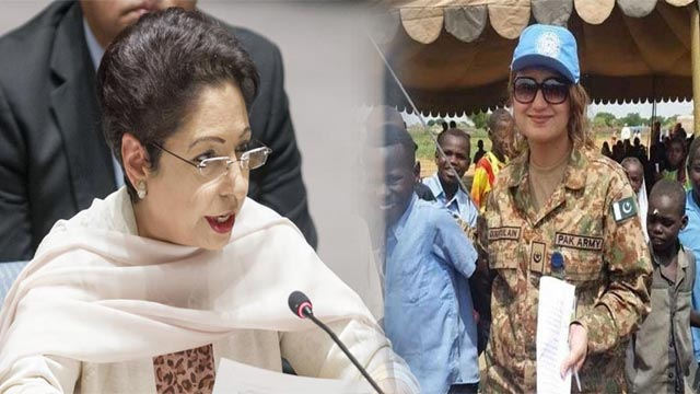 15% Pakistani Female Working in Peacekeeping Missions