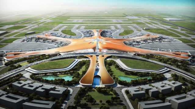 China All Set to Open World's Largest 'Starfish' Airport