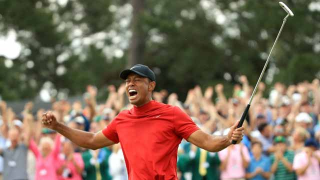 Tiger Woods Captures His Fifth Masters Title