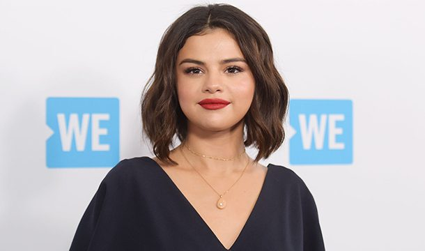 Selena Gomez Kept her Lips Sealed Shut at the 'We Day California event'