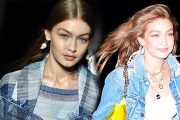 Gigi Hadid Makes Denim a New Cool Theme for Her 24th Birthday Party